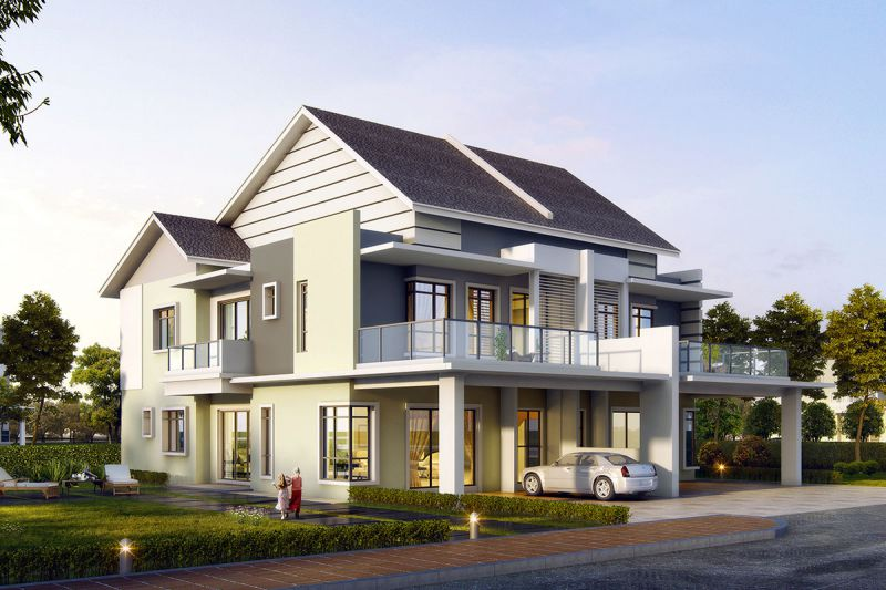 SPPK Parkview Mansions Double Storey Semi D