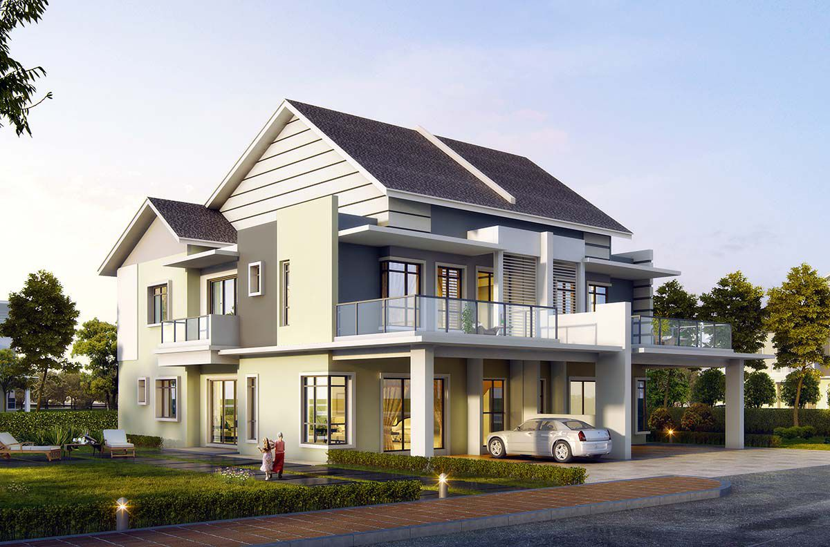 SPPK Parkview Mansions Double Storey Semi-D