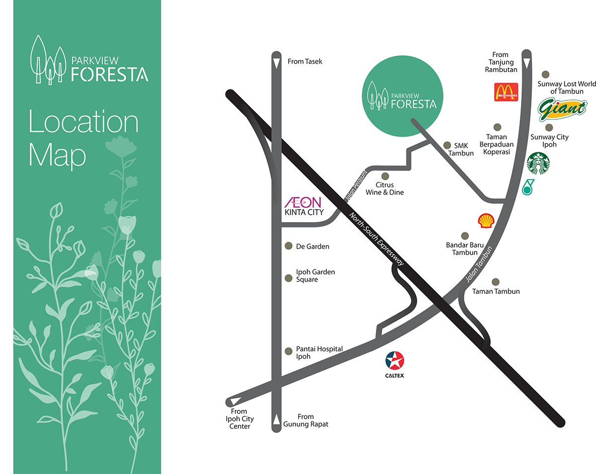 Location Maps Parkview Foresta